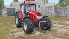 Zetor Forterra 150 HD light brilliant red pour Farming Simulator 2017