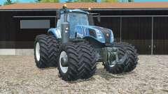 New Holland T8.320 double wheels pour Farming Simulator 2015