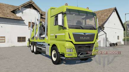 MAN TGX 26.640 with autoload wood für Farming Simulator 2017
