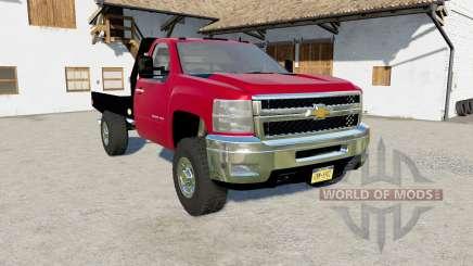 Chevrolet Silverado 2500 HD Flatbed 2010  pour Farming Simulator 2017