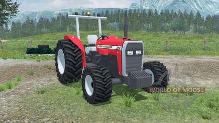 Massey Ferguson 240 4WD pour Farming Simulator 2013