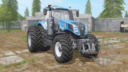 New Holland T8-series with dual wheel für Farming Simulator 2017