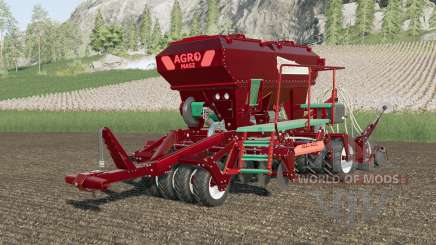 Agro-Masz Salvis 3800 metallic multicolor für Farming Simulator 2017
