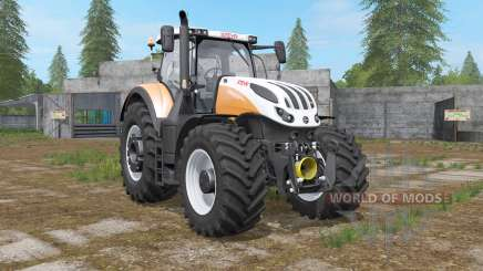 Steyr Terrus 6000 CVT 6 new engine tuning für Farming Simulator 2017