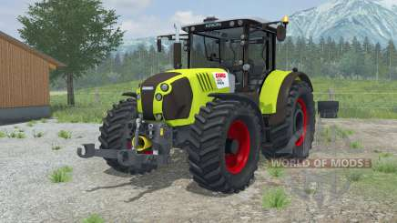 Claas Arion 620 vivid lime green pour Farming Simulator 2013