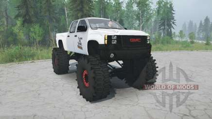 GMC Sierra lifted pour MudRunner