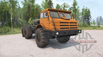 MoAZ-74111 v2.0 für MudRunner