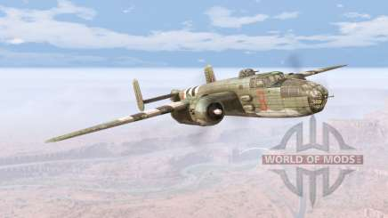 North American B-25 Mitchell v5.5 pour BeamNG Drive