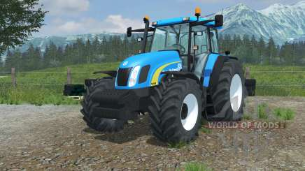 New Holland TL100A vivid cerulean pour Farming Simulator 2013