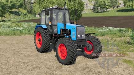 MTZ-1221 Biélorussie choix de la couleur du corps et les roues pour Farming Simulator 2017