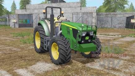John Deere 5085M & H240 für Farming Simulator 2017