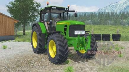 John Deere 6830 Premium adjustable tow hitch pour Farming Simulator 2013