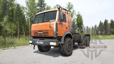 KamAZ-44108 leuchtend orange für MudRunner