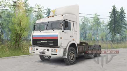 KamAZ-54115 Les Chauffeurs De Camion pour Spin Tires