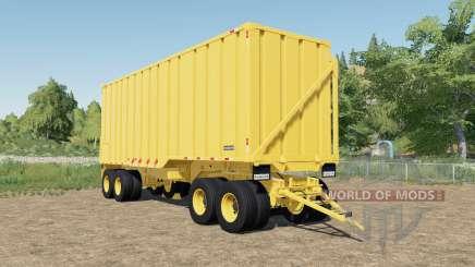 Randon sugarcane trailer dump faster pour Farming Simulator 2017