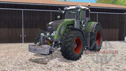 Fendt 933 Vario with weight pour Farming Simulator 2015