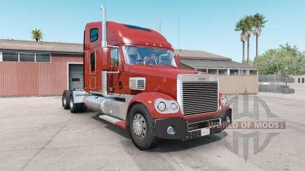 Freightliner Coronado dark pastel red für American Truck Simulator