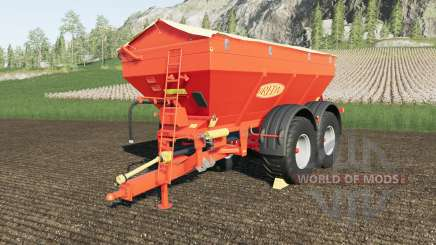 Bredal K165 crazy spreader für Farming Simulator 2017