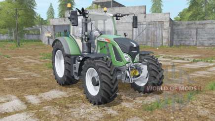 Fendt 700 Vario logos on the hood pour Farming Simulator 2017