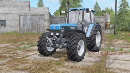 New Holland 8340 rich electric blue für Farming Simulator 2017