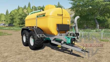 Zunhammer SKE 15.5 PU mudguards choice pour Farming Simulator 2017
