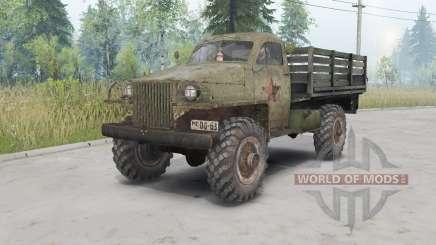 GAZ-63 1943 pour Spin Tires