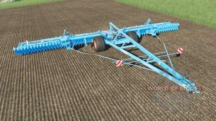 Lemken Gigant 12S-1600 Heliodor 9 plow für Farming Simulator 2017