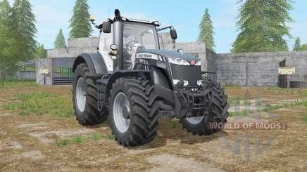 Massey Ferguson 8700 Black Beauty Edition für Farming Simulator 2017