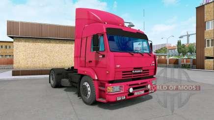 KamAZ-5460 leuchtend rot für Euro Truck Simulator 2