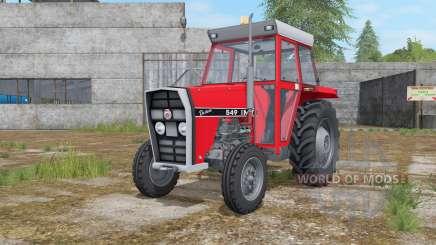 IMT 549 DeLuxe light brilliant red pour Farming Simulator 2017