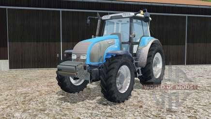 Valtra T140 process cyan pour Farming Simulator 2015