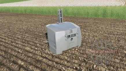 AGCO weight 5000 kg. für Farming Simulator 2017