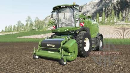 Krone BiG X 1180 increased transfer rate pour Farming Simulator 2017