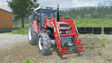 Zetor 10145 front loader pour Farming Simulator 2013