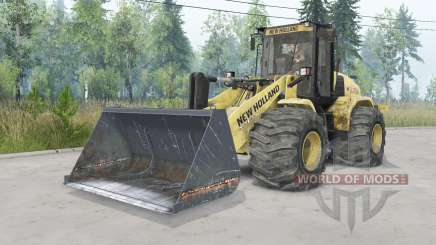New Holland W170C v1.3 pour Spin Tires