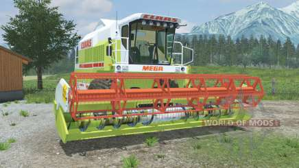 Claas Mega 218 & C600 pour Farming Simulator 2013