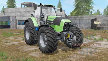 Deutz-Fahr Serie 7 TTV custom exhaust effect pour Farming Simulator 2017