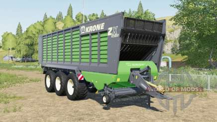 Krone ZX 560 GD increased capacity pour Farming Simulator 2017