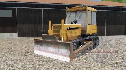 DT-75ML avec lame niveleuse pour Farming Simulator 2015
