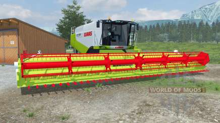 Claas Lexique 600 TerraTraɕ pour Farming Simulator 2013