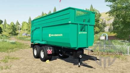 Grabmeier Muldenkipper pour Farming Simulator 2017