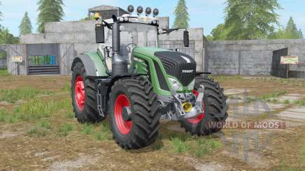 Fendt 900 Vario added extra worklight pour Farming Simulator 2017