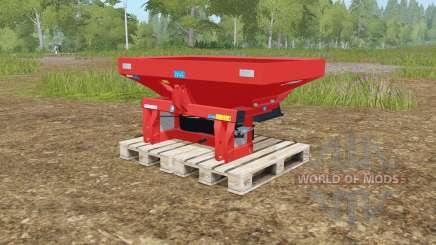 Rauch MDS 19.1 rotating plates für Farming Simulator 2017