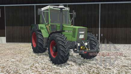 Fendt Favorit 615 LSA Turbomatik E real lights pour Farming Simulator 2015
