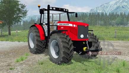 Massey Ferguson 6480 new wheels pour Farming Simulator 2013