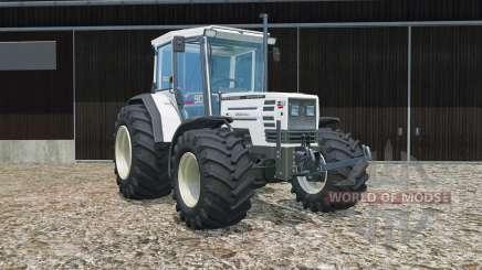 Hurlimann H-488 Turbo tires were widened pour Farming Simulator 2015