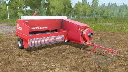 Welger AP 730 pour Farming Simulator 2017
