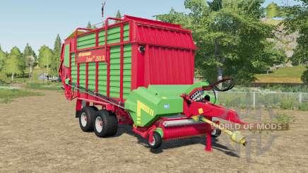 Strautmann Zelon CFS 2501 DO with more volume für Farming Simulator 2017