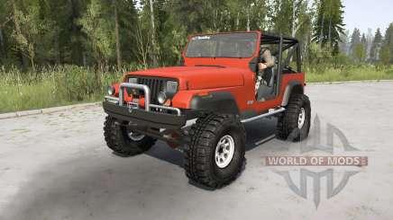 Jeep Wrangler (YJ) 1989 pour MudRunner