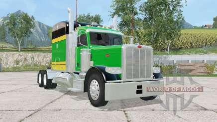 Peterbilt 388 tricolor für Farming Simulator 2015